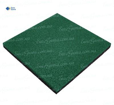 Резиновая плита 500х500, толщина 50 мм