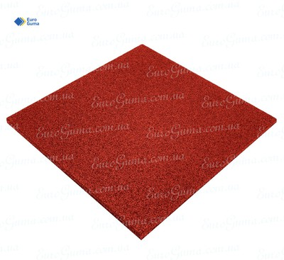 Резиновая плита 500х500, толщина 12 мм
