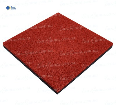 Резиновая плита 500х500, толщина 20 мм